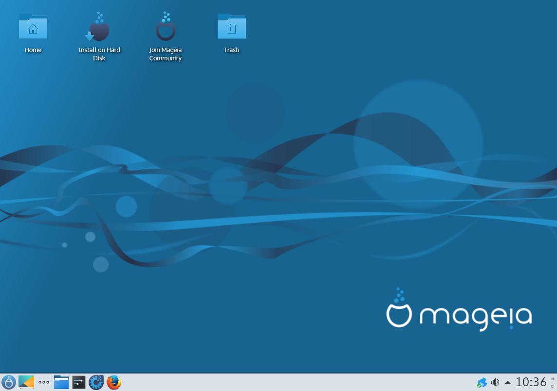 Mageia_6_Plasma_desktop