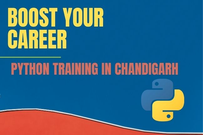 boost your career with python training in chandigarh