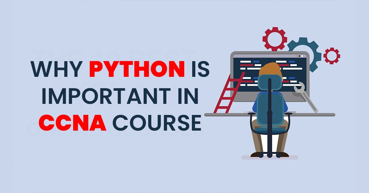 Role of python in CCNA course
