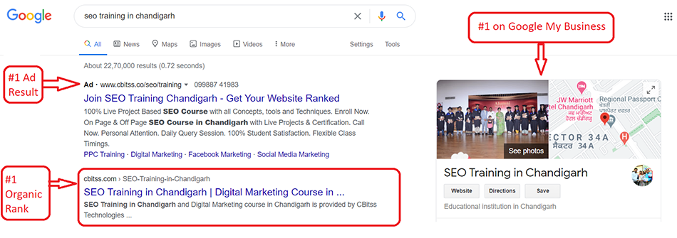 seo training in Chandigarh Google Search